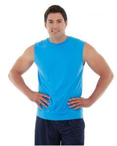 Sinbad Fitness Tank-XS-Blue